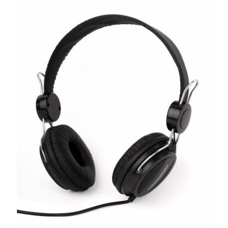 Słuchawki z mikrofonem MODECOM MC-400 czarne