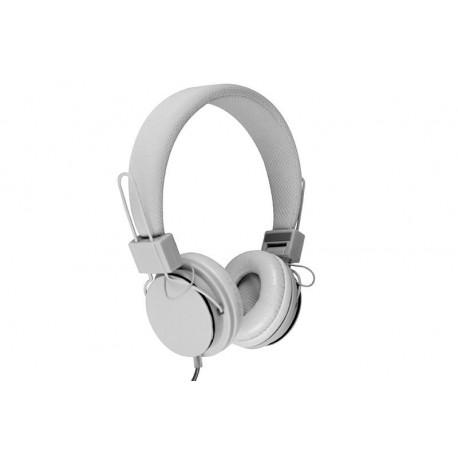 Słuchawki z mikrofonem Media-Tech MT3586W PICTOR białe