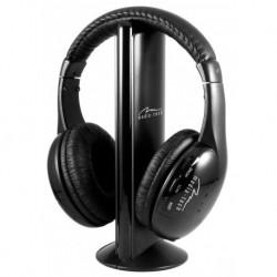 Słuchawki z mikrofonem Media-Tech MT3578 Sirius Pro  bezprzewodowe czarne