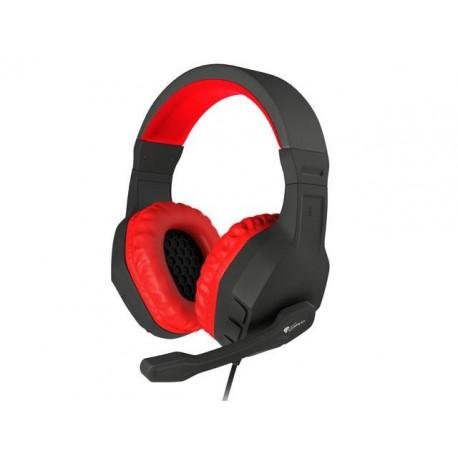 Słuchawki z mikrofonem Genesis Argon 200 Gaming czarno-czerwone