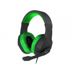 Słuchawki z mikrofonem Genesis Argon 200 Gaming czarno-zielone