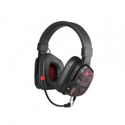 Słuchawki z mikrofonem Genesis Argon 570 Gaming czarno-czerwone