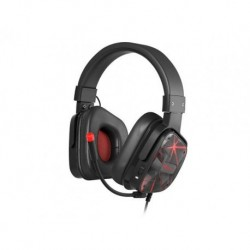 Słuchawki z mikrofonem Genesis Radon 710 Gaming czarno-czerwone