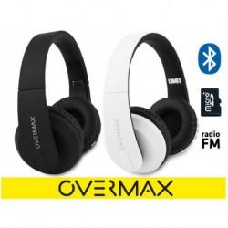 Słuchawki z mikrofonem MP3 BT OVERMAX SOUNDBOOST bezprzewodowe czarne