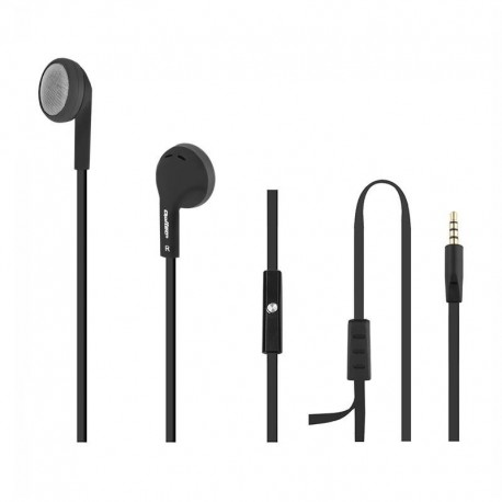 Słuchawki z mikrofonem Qoltec 50805 czarne