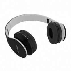 Słuchawki z mikrofonem Qoltec bezprzewodowe FM TF