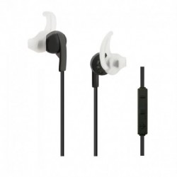 Słuchawki z mikrofonem Qoltec bezprzewodowe bluetooth czarne