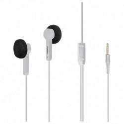 Słuchawki Qoltec białe