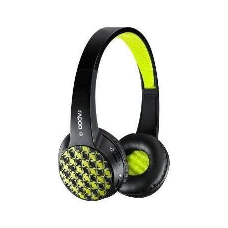 Słuchawki z mikrofonem Rapoo Multi-Style S100 bezprzewodowe czarne
