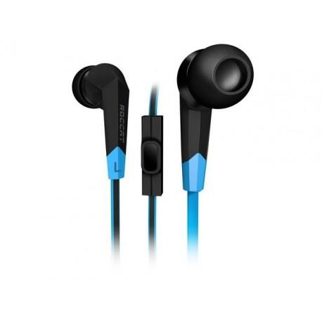 Słuchawki z mikrofonem Roccat Syva Gaming czarno-niebieskie