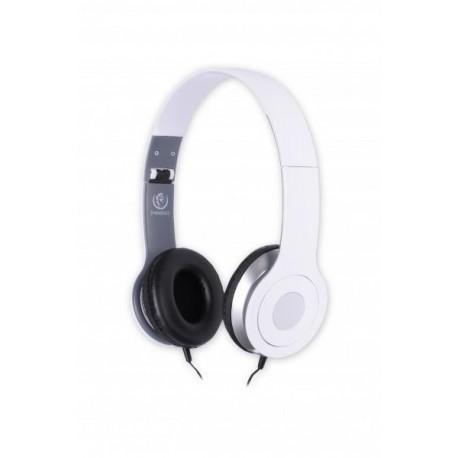Słuchawki z mikrofonem Rebeltec CITY białe