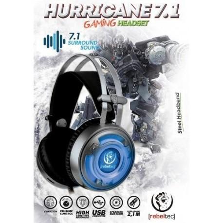Słuchawki z mikrofonem Rebeltec HURICANE 7.1 Gaming stereo