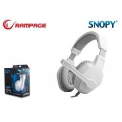 Słuchawki z mikrofonem Rampage SN-R3 Gaming białe