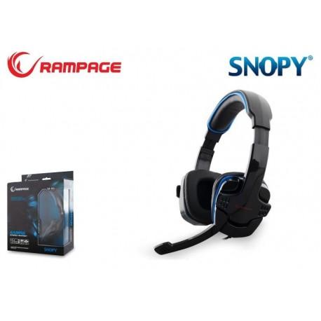 Słuchawki z mikrofonem Rampage SN-R9 Gaming