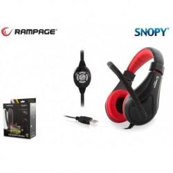 Słuchawki z mikrofonem Rampage SN-RU2 Gaming