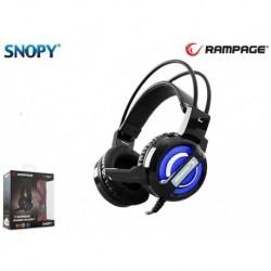 Słuchawki z mikrofonem Rampage SN-RW4 7.1 LED Gaming