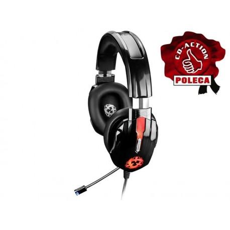 Słuchawki z mikrofonem RAVCORE Zen 7.1 czarne