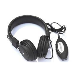 Słuchawki Camry CR 1145 z radiem i USB czarne