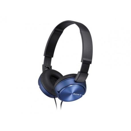 Słuchawki Sony MDR-ZX310 czarno-niebieskie