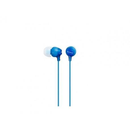 Słuchawki Sony MP3 MDR-EX15LP niebieskie