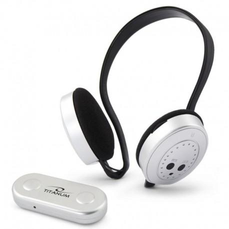 Słuchawki z mikrofonem Titanum Fm Swing bezprzewodowe