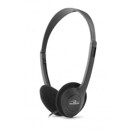 Słuchawki Titanum audio salsa szare