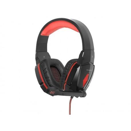 Słuchawki z mikrofonem Tracer RAPTOR Gaming szare
