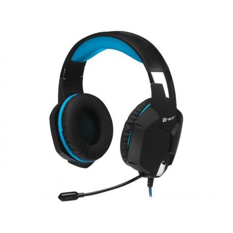 Słuchawki z mikrofonem TRACER BATTLE HEROES Dragon czarno-niebieskie