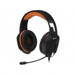 Słuchawki z mikrofonem TRACER BATTLE HEROES Dragon czarno-pomarańczowe