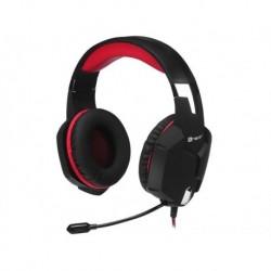 Słuchawki z mikrofonem TRACER BATTLE HEROES Dragon czarno-czerwone