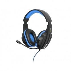 Słuchawki z mikrofonem TRACER BATTLE HEROES Expert czarno-niebieskie