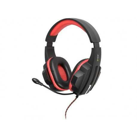 Słuchawki z mikrofonem TRACER BATTLE HEROES Expert czarno-czerwone