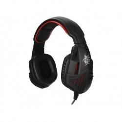 Słuchawki z mikrofonem TRACER GAMEZONE Gladiator czarno-czerwone