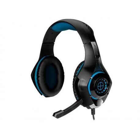 Słuchawki z mikrofonem TRACER BATTLE HEROES Gunman czarno-niebieskie