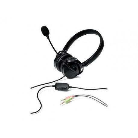 Słuchawki z mikrofonem Verbatim 49123 czarne