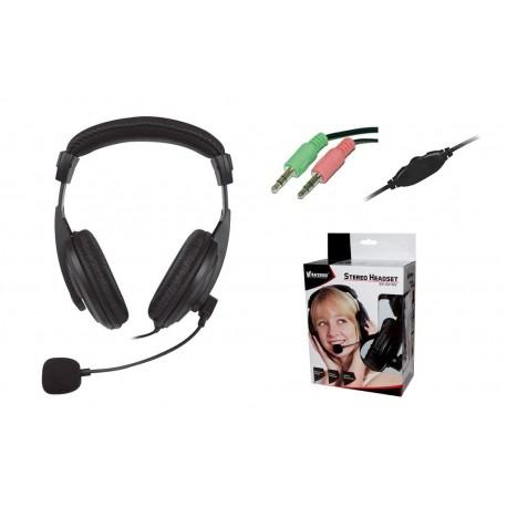 Słuchawki z mikrofonem Vakoss SK-601HV czarne