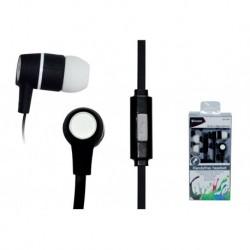Słuchawki z mikrofonem Vakoss SK-214K czarno-białe