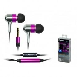 Słuchawki z mikrofonem Vakoss SK-225EU srebrno-fioletowe