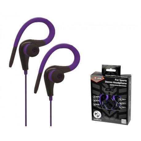 Słuchawki X-Zero X-H361U fioletowe