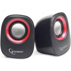 Głośniki GEMBIRD 2.0 SPK-107A BLACK 2X3W