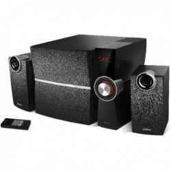 Głośniki Edifier 2.1 C2XD czarne, wyjście optyczne