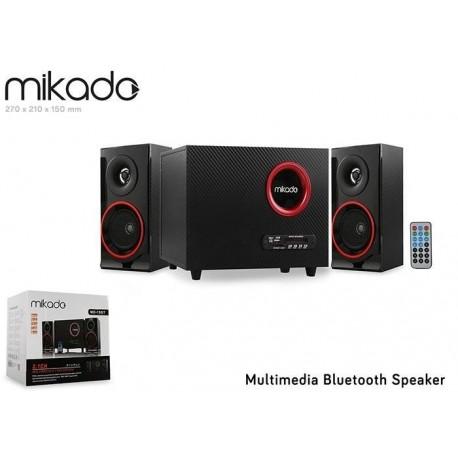 Głośniki Mikado MD-19BT 2+1 20W+2x10W USB+SD+FM+Bluetooth