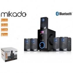 Głośniki MIKADO MD-813BT 5+1 USB+SD+FM Bluetooth Pilot