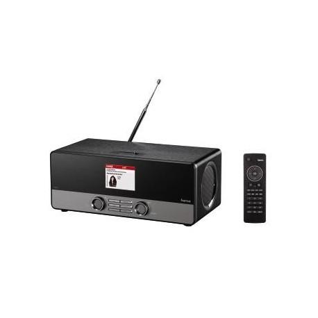 Radio internetowe/cyfrowe/analogowe + odtwarzacz WiFi Hama DIR3100 (WPS/RJ45/USB)