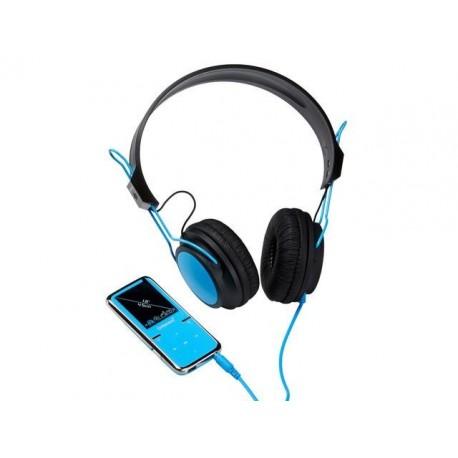 """Odtwarzacz MP4 Intenso 8GB Scooter LCD1.8"""" niebieski + słuchawki"""