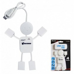 Hub USB 2.0 4 Porty VAKOSS TC-239UW