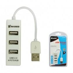 Hub USB 2.0 4 Porty VAKOSS TC-234UX