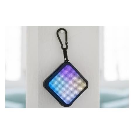 Głośnik Bluetooth® Ednet SPECTRO II z LED, 5W, 2200mAh, przenośny, IPX4