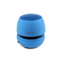Głośnik Gembird portable z wbudowaną baterią MP3 laptop blue