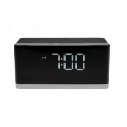 Głośnik Bluetooth stereo z wbudowanym zegarem i budzikiem Media-Tech Wakebox BT MT3148